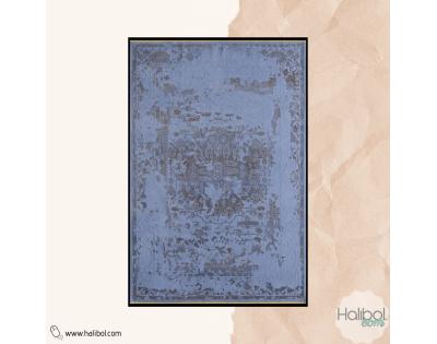 Pierre Cardin Afghan AG05H- 80x150 - 100x190 ve 100x290 Mavi Halı